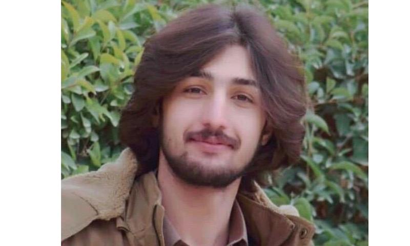 Faizan Jattak (pictured) was the son of tribal elder Mir Dad Mohammad Jattak. — Photo provided by author