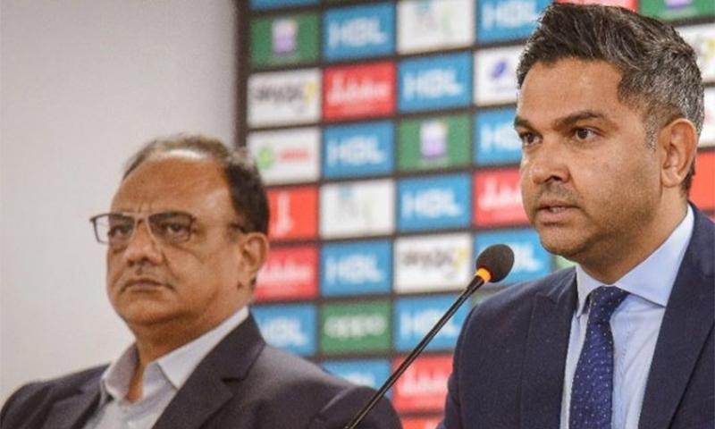 ڈاکٹر سہیل سلیم کے مطابق وسیم خان نے ان سے استعفیٰ طلب کیا تھا — فوٹو بشکریہ پی سی بی / ٹوئٹر