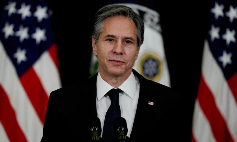 This file photo shows US State Secretary Antony Blinken. — Reuters/File