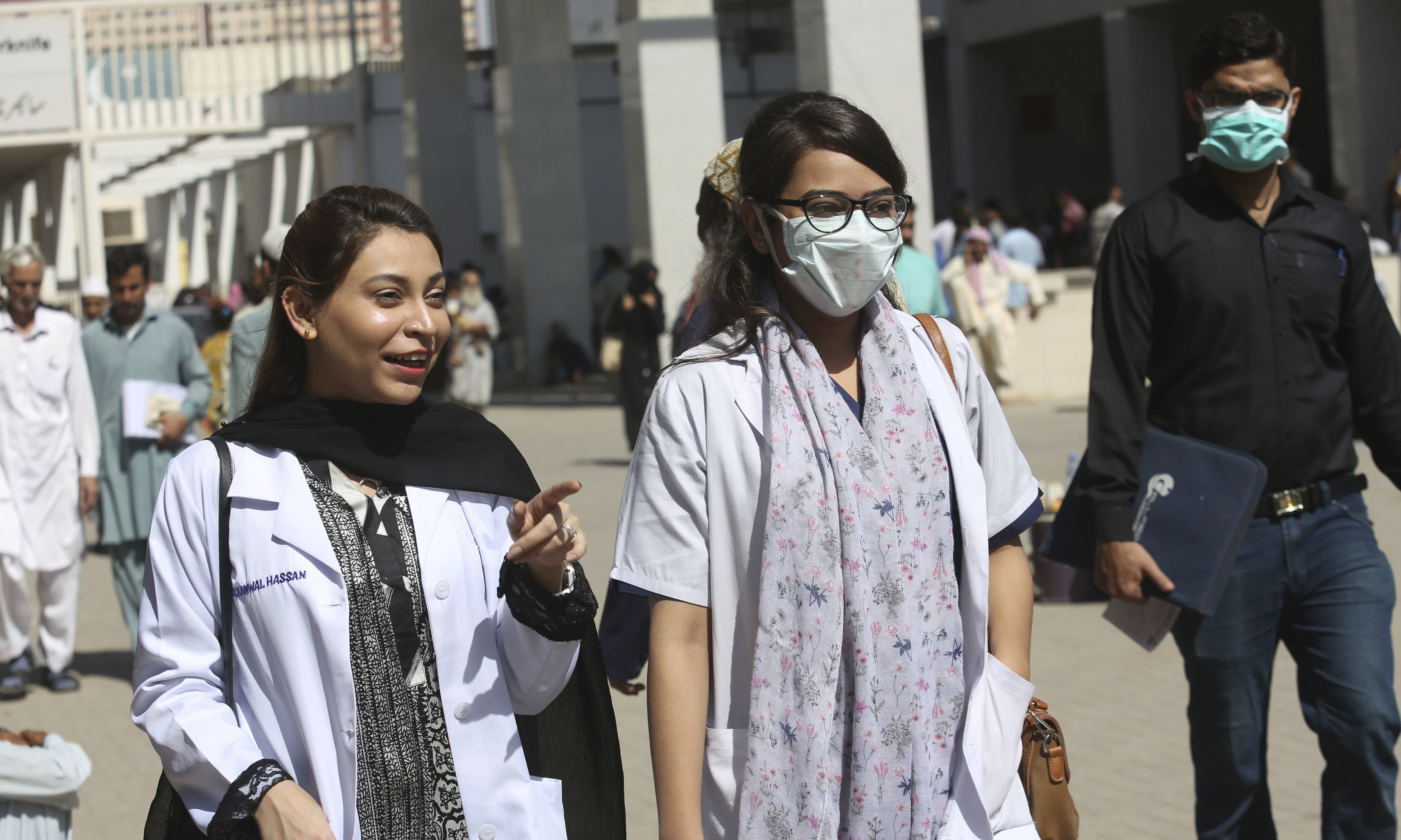 The Pakistan Medical Commission (PMC) has allowed nine medical and dental colleges to operate even though they have been found to be deficient on many counts. — AFP/File
