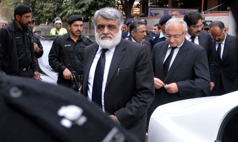 The first audit conducted by the Auditor General of Pakistan has accused former chief justice of the IHC Anwar Khan Kasi of misusing public funds for personal use. — AFP/File