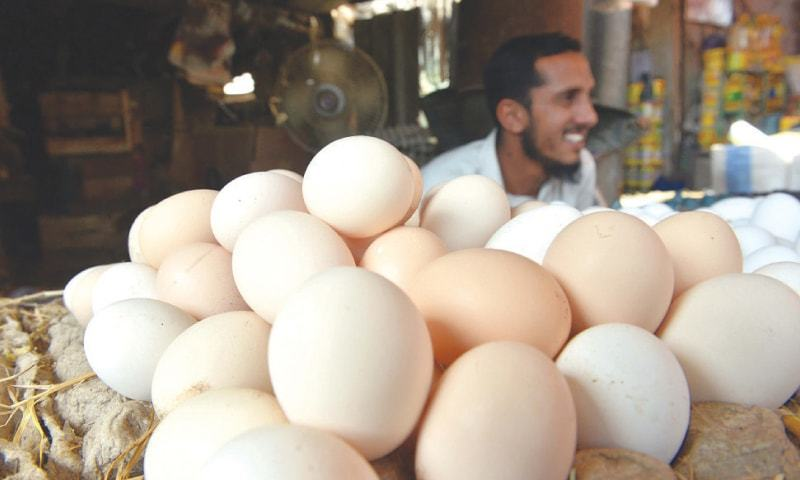 The Competition Commission of Pakistan (CCP) on Friday disclosed that 19 poultry feed companies were involved in price coordination which led to repeated increase in prices of chicken and eggs. — Dawn/File