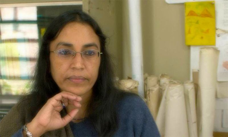 Perween Rehman, head of the Orangi Pilot Project, was gunned down near her office in Orangi Town on March 13, 2013. — Dawn/File