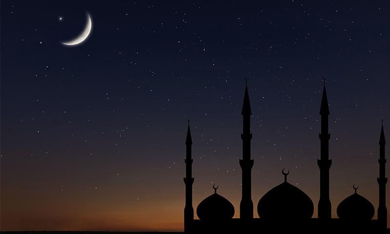 سرکاری سطح پر چاند کی رویت کا اعلان کرنے کا اختیار رویت ہلال کمیٹی کو حاصل ہے—تصویر: شٹراسٹاک