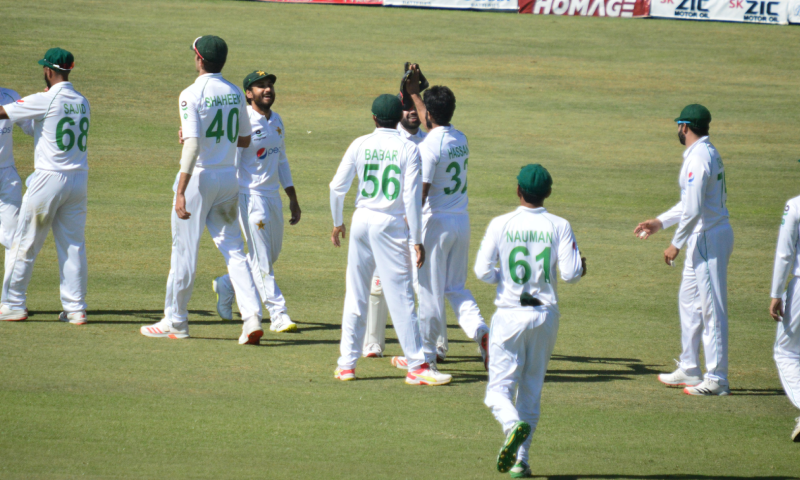 حسن علی نے 5 وکٹیں حاصل کیں—فوٹو: پی س بی ٹوئٹر