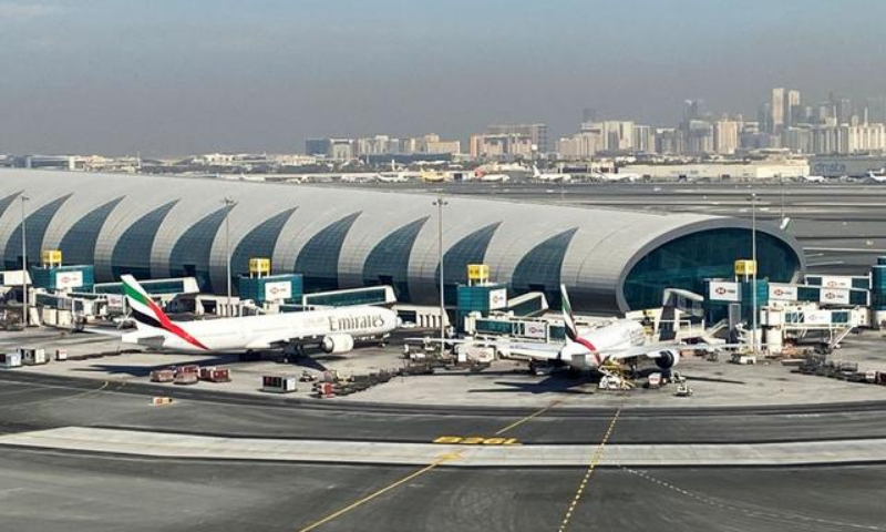 Emirates planes are seen on the tarmac in a general view of Dubai International Airport in Dubai, United Arab Emirates. — Reuters/File