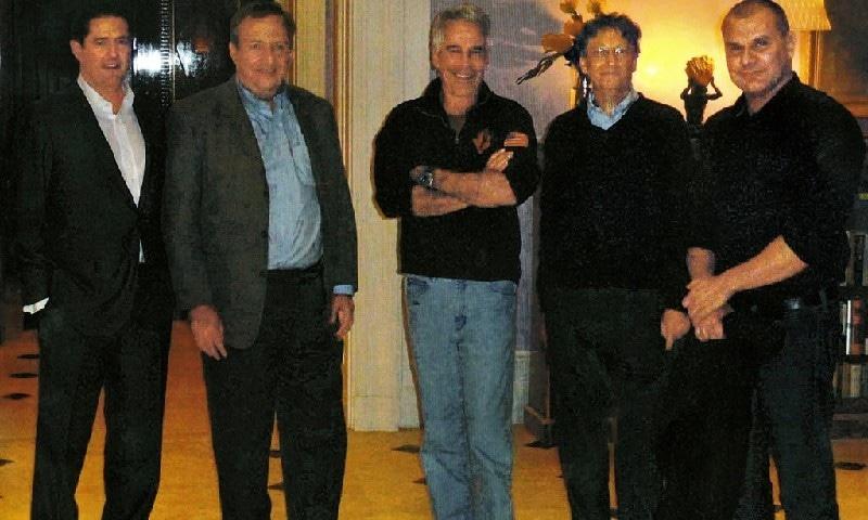 جیفری اپسٹن سے بل گیٹس کی ملاقات، فوٹو بشکریہ نیویارک ٹائمز