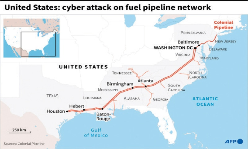 The attack on Colonial Pipeline is one of the most disruptive digital ransom schemes reported.