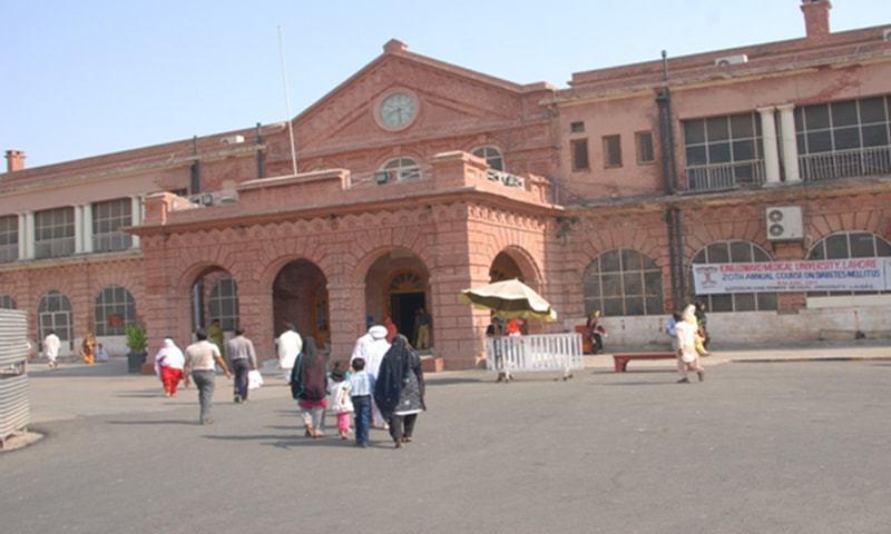 A view of Mayo Hospital in Lahore. — Photo courtesy Mayo Hospital website
