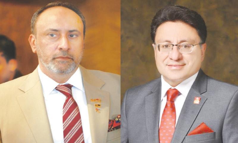 OMAR Saeed (left) and Dr Farhan Essa
