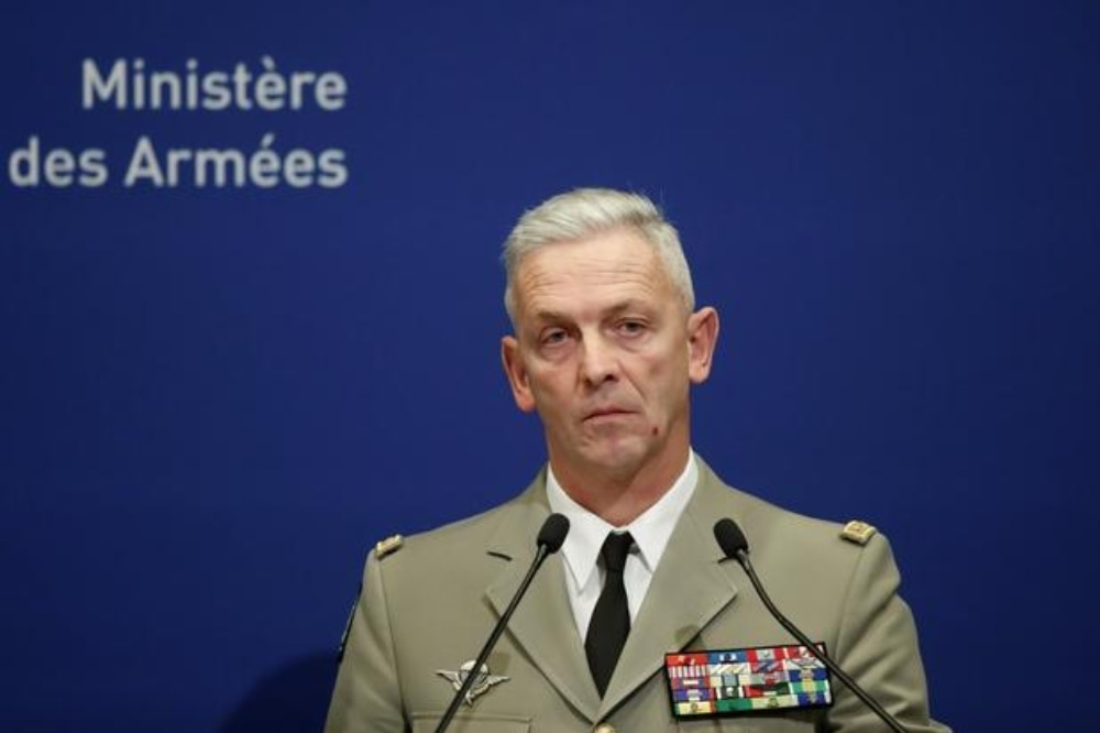 """""""The most reasonable step is certainly to leave the institution in order to freely express their ideas and convictions,"""" General Francois Lecountre said. - Reuters"""