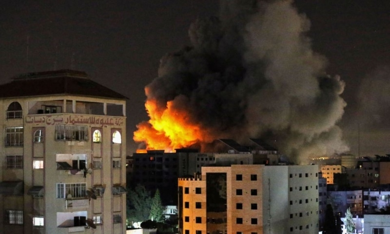 Deadly night of violence flares between Israel and Palestinian militants