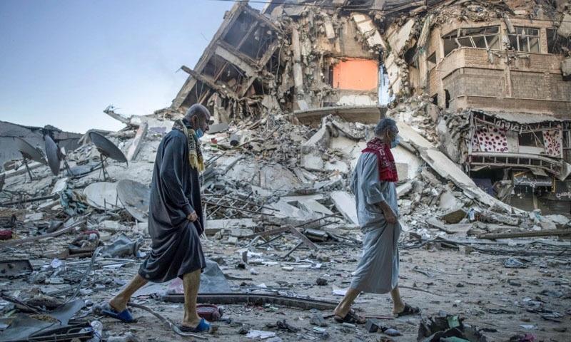 عیدالفطر پر بھی اسرائیل کے غزہ میں حملے، 24 بچوں سمیت جاں بحق افراد کی تعداد 103 تک پہنچ گئی