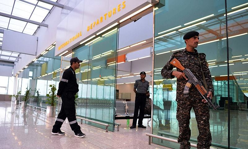 A team of experts have already visited the airport and selected the site to deploy the sniffer dogs. — AFP/File