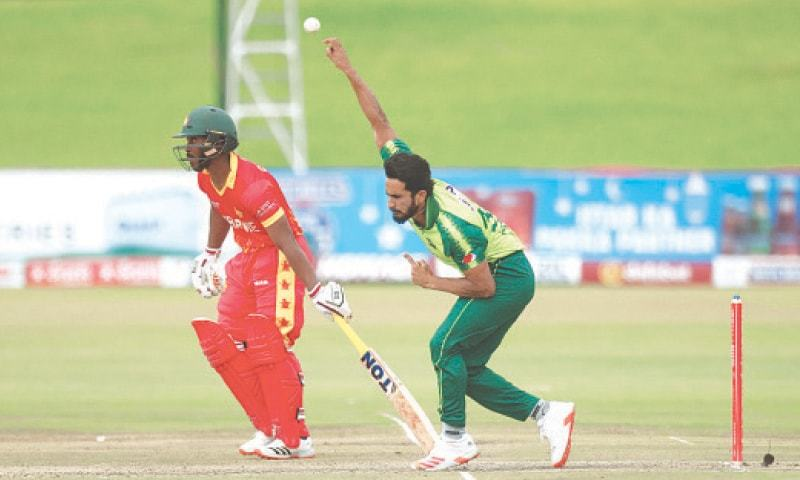 Pacer Hasan Ali has moved up six places to 14th position in the ICC rankings. — AP/File