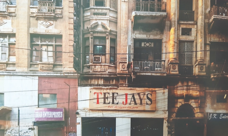 An early shop-front for Tee Jays, Pakistan's first prêt brand