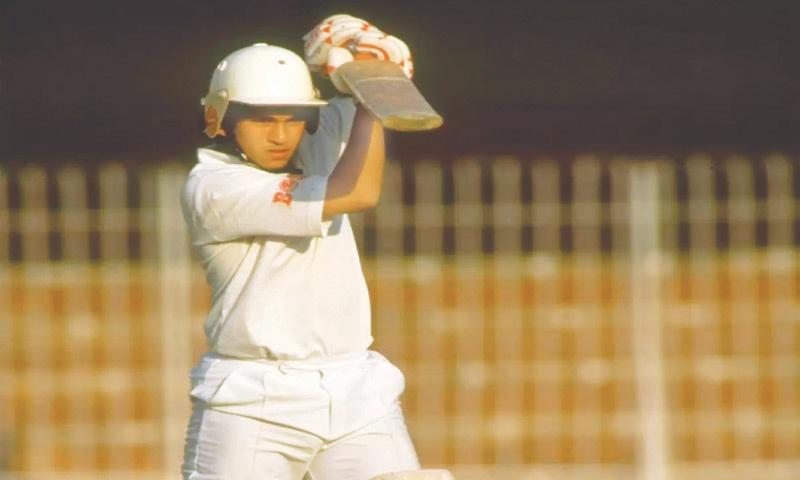 Sachin Tendulkar on his debut at 16