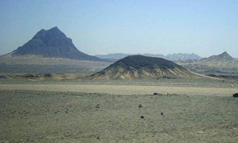 A view of Reko Diq fields. — Reuters/File