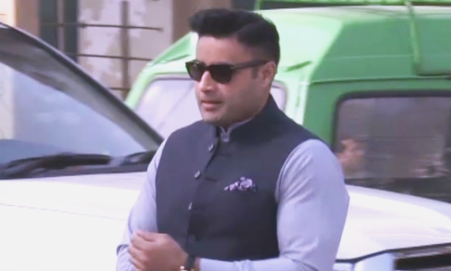 This file photo shows Special Assistant to the Prime Minister Zulfiqar Abbas Bukhari. — DawnNewsTV/File