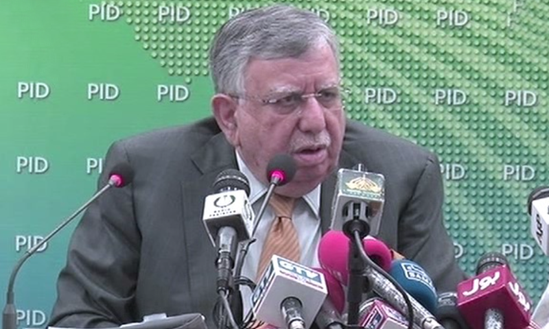 Finance Minister Shaukat Fayaz Ahmed Tarin will be the chairman of the eight-member inter-provincial decision-making body on development. — DawnNewsTV/File