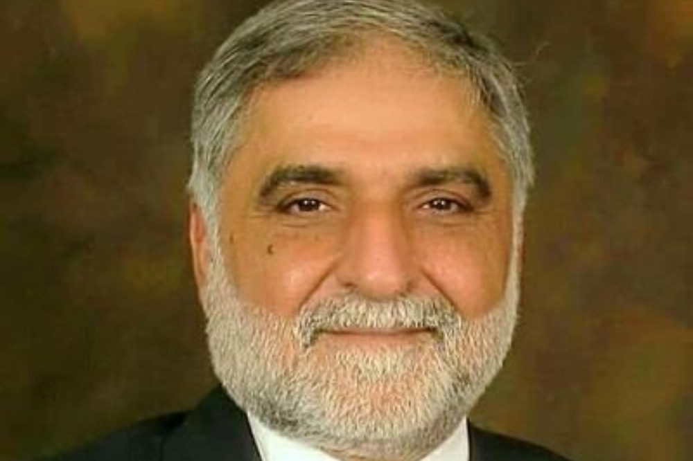 Punjab irrigation minister Mohsin Leghari said that Sindh was in fact getting more water than its due share under the water accord.— Photo courtesy Twitter