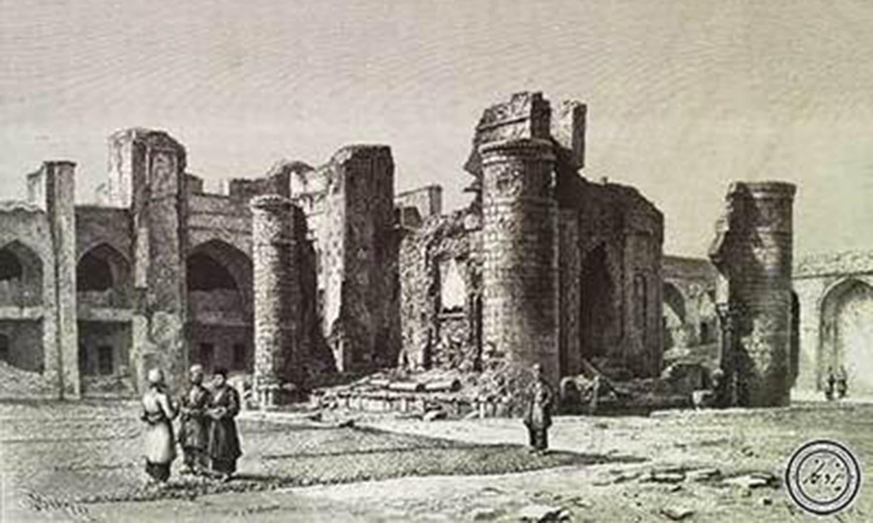 مسجد جامع عتیق، 1255 هجری شمسی، شیراز