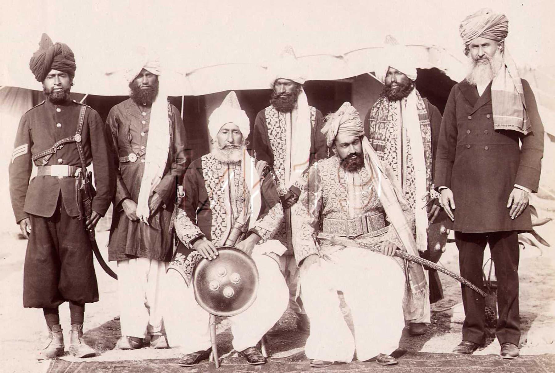 لسبیلہ کے جام دہلی دربار میں (1903ء)