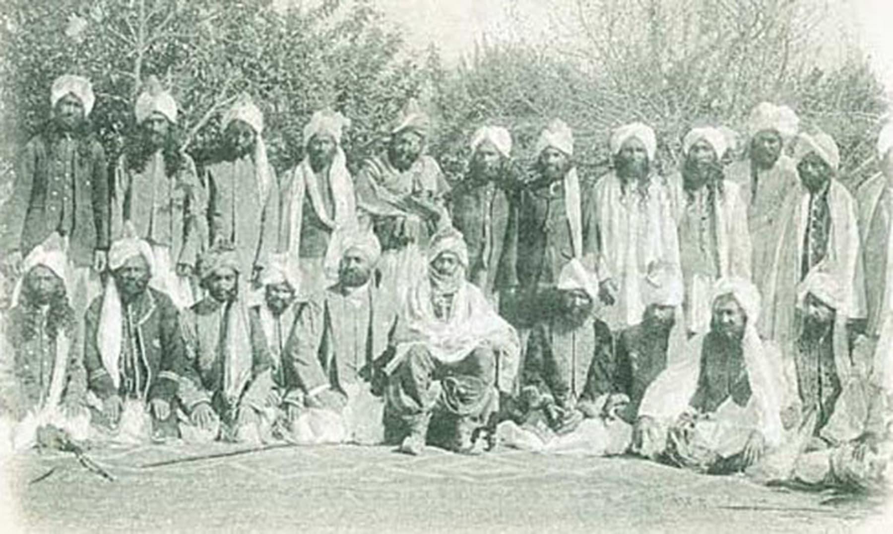 خان آف قلات اور دیگر سردار (1906ء)