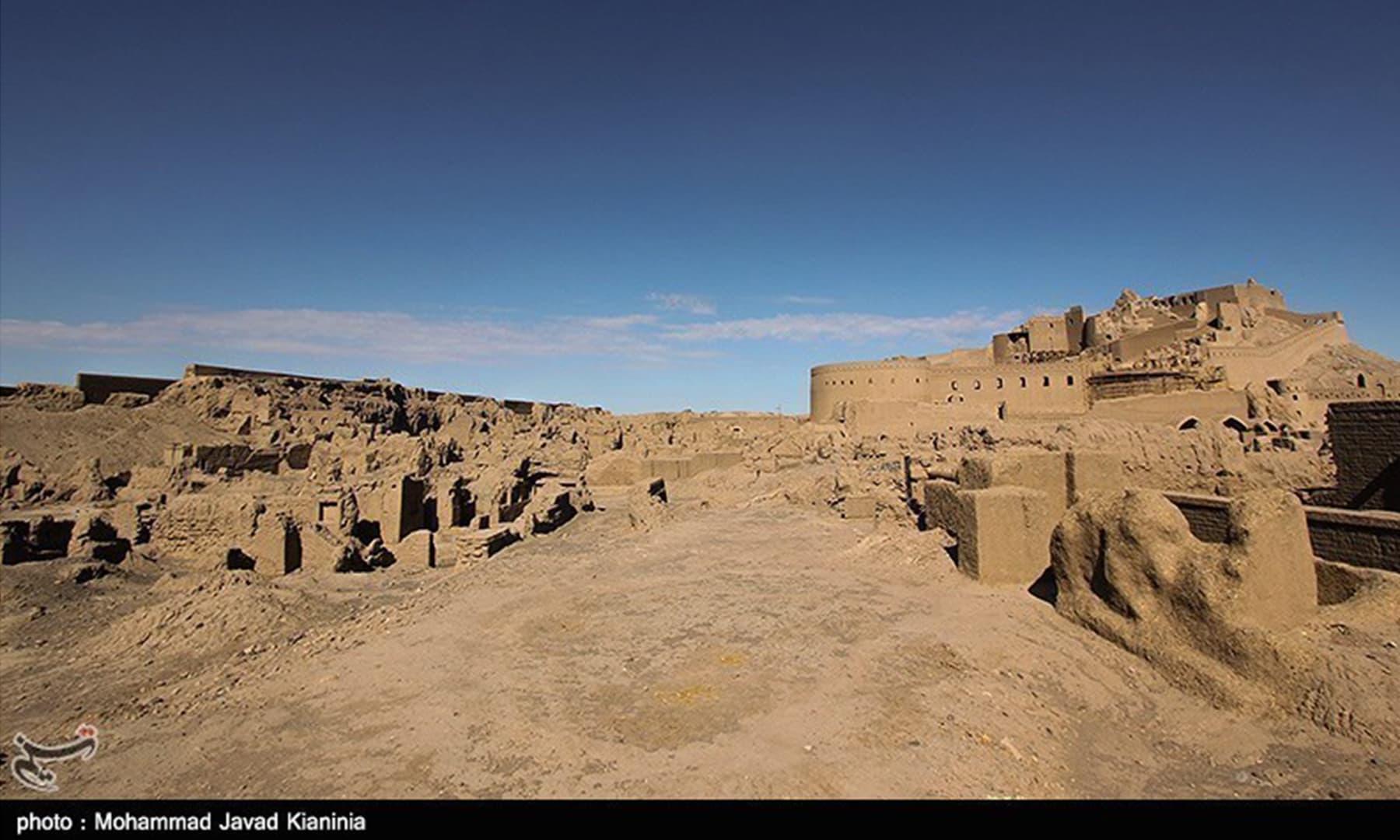 بم کا تاریخی قلعہ
