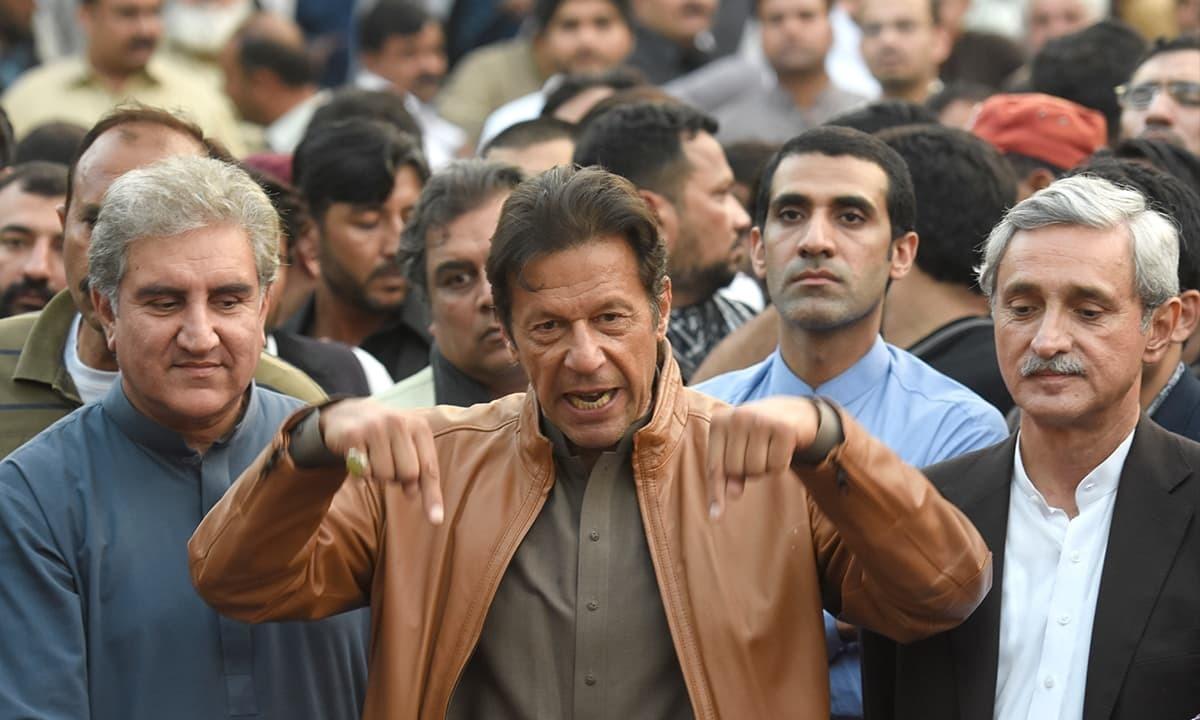 'میں عمران خان کے ساتھ کھڑا ہوں' وفاقی وزرا، سینئر ارکان میدان میں آگئے