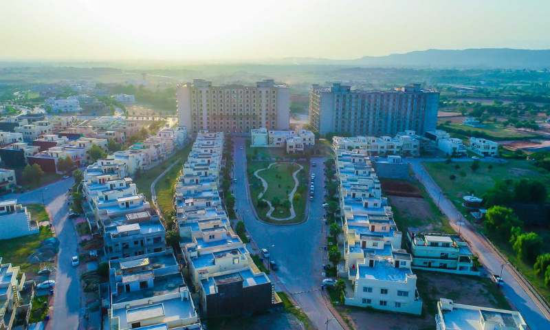 A file picture of Bahria Enclave in Islamabad. — Photo courtesy Bahria Town website