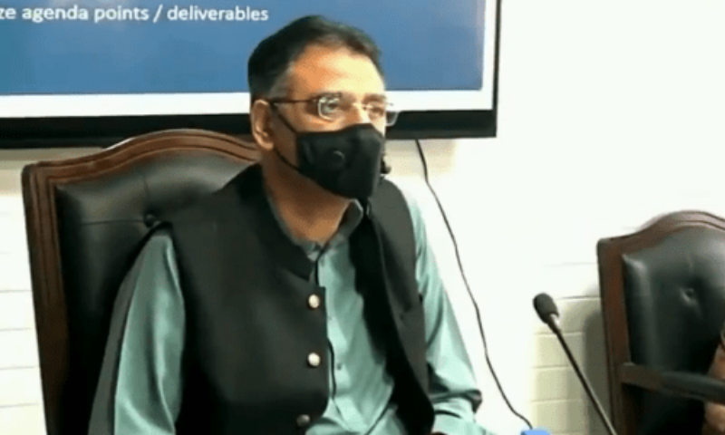 Planning Minister Asad Umar said the issue of those who were registered with the United Nations High Commissioner for Refugees (UNHCR) and had 'Proof of Registration (PoR)' cards was discussed at the forum and it was decided that they would be vaccinated. — APP/File