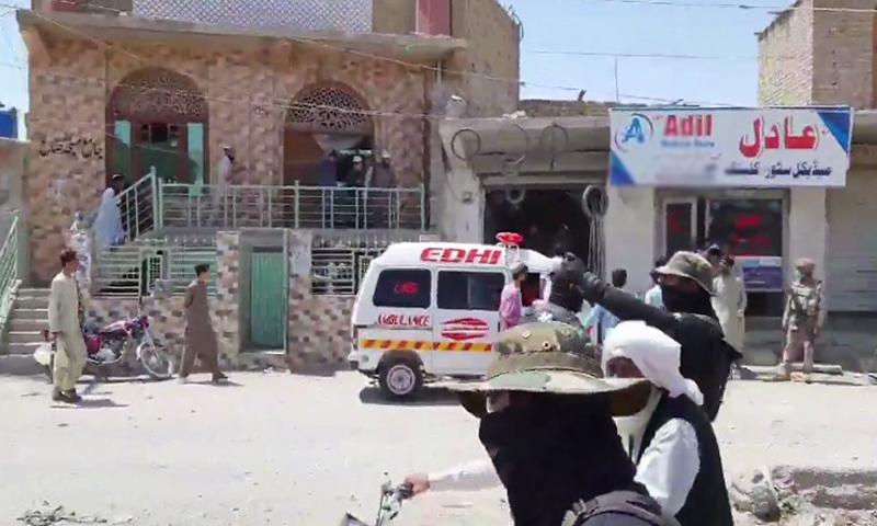 کوئٹہ کے قمبرانی روڈ پر دھماکا، 5 افراد زخمی