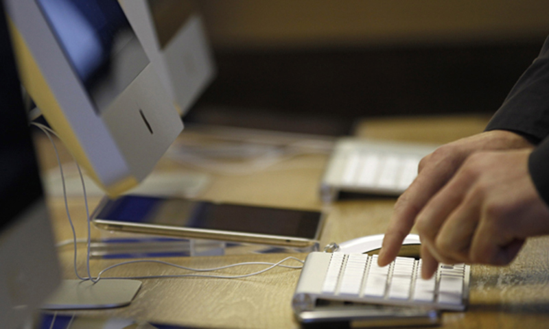 In April, the exports of ICT grew by 66pc to $196m as compared to $118m in April 2020. — AP/File