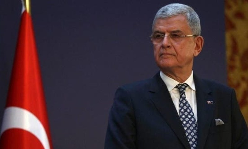 Volkan Bozkir, who is the first Turkish national to preside over the UNGA, had also visited Pakistan in August 2020, before assuming the role of the UNGA head. — AFP/File
