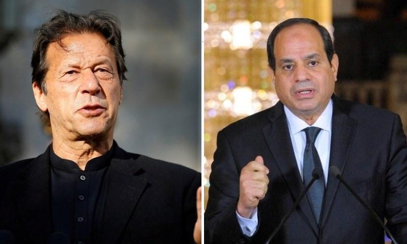 وزیراعظم کی مصری صدر سے ٹیلی فونک گفتگو، اسرائیل کی مقبوضہ علاقوں سے واپسی پرزور