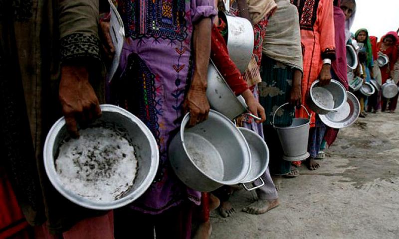 ملک میں 16.4 فیصد گھرانوں کو غذائی عدم تحفظ کا سامنا