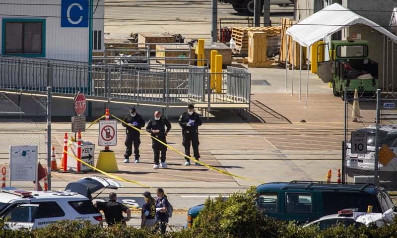 کیلیفورنیا: ریلوے مرکز میں فائرنگ کے نتیجے میں 8 افراد ہلاک
