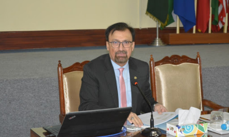 Pakistan was a reluctant entrant to the nuclear weapons club and it did so for the sake of restoring regional strategic stability, said adviser to Strategic Plans Division Khalid Banuri. — Foreign Services Academy website