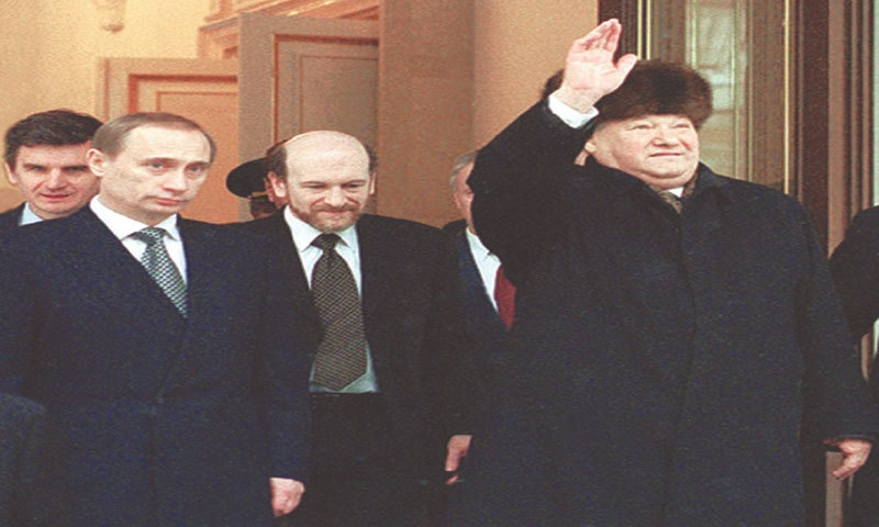 On Dec 31, 1999, Boris Yeltsin announced his early resignation as head of state and appointed Vladimir Putin acting president, under the mistaken belief that Putin was a man who could be controlled by Yeltsin and his family | Wikimedia Commons