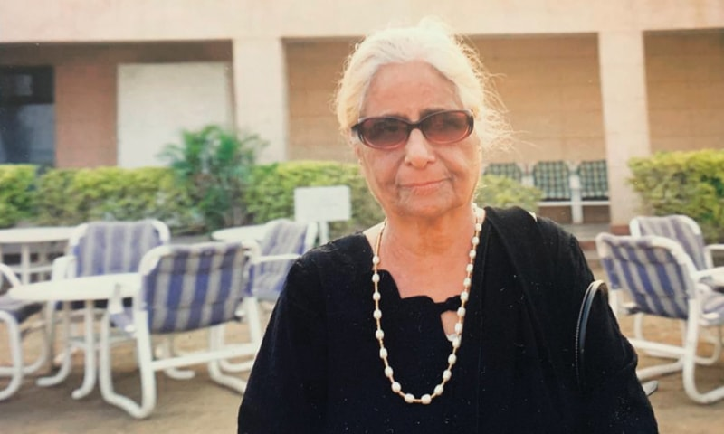 In 1957, Dr Aijaz Fatima and her husband Dr Tajammul Hussain left their government jobs and started a two-room maternity home in Nazimabad with the aim of serving the community. — Dawn