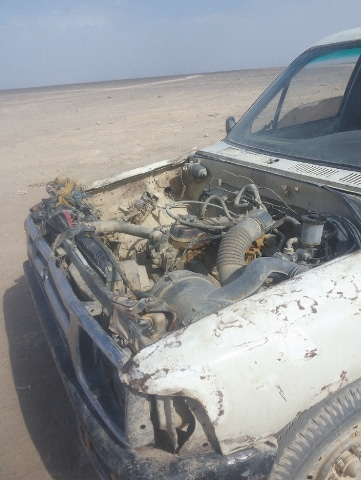 The apparently out-of-order pick-up that took us to Mashkhel