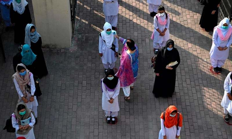 Colleges in Khanewal and Rahim Yar Khan will remain closed till further orders.— AFP/File