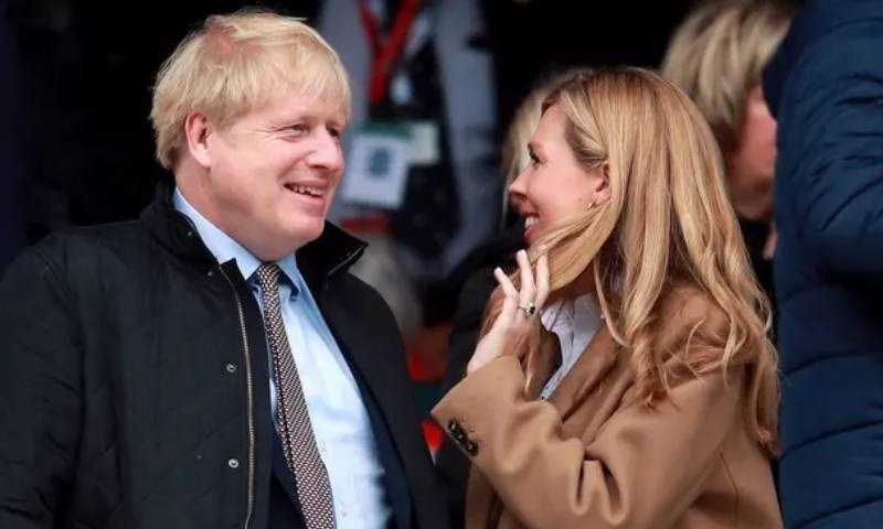 بورس جانسن  برطانیہ کی 200 سالہ تاریخ میں وزارت عظمیٰ کے عہدے پر براجمان رہتے ہوئے شادی کرنے والے پہلے وزیراعظم ہیں—فائل فوٹو: پی اے