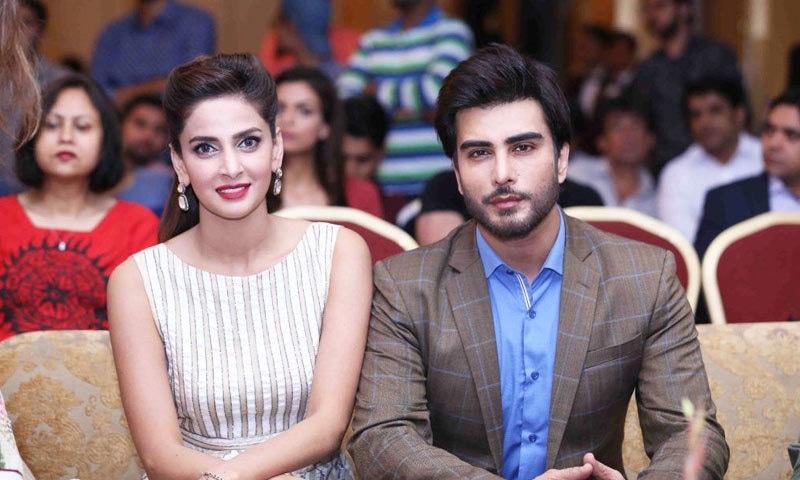 صبا قمر اور عمران عباس پہلی مرتبہ 'تمہارے حسن کے نام' کے لیے اکٹھے