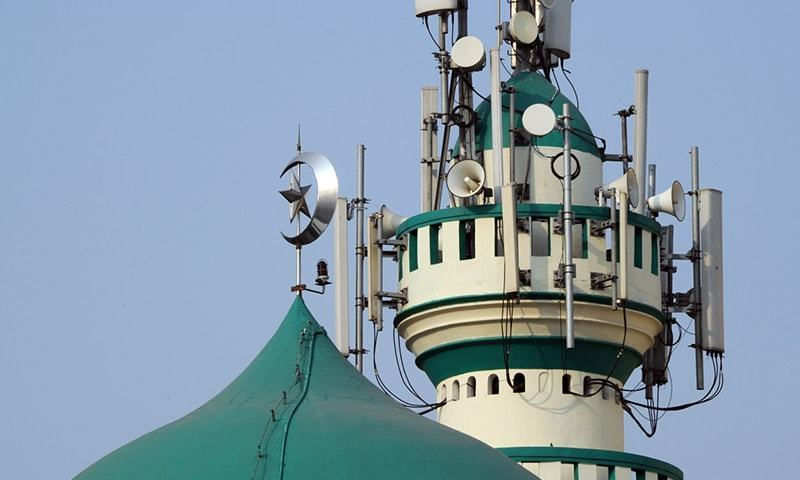 In a circular last week, the Islamic Affairs Ministry said loudspeakers on mosques should not be set higher than a third of their maximum volume. — AFP/File