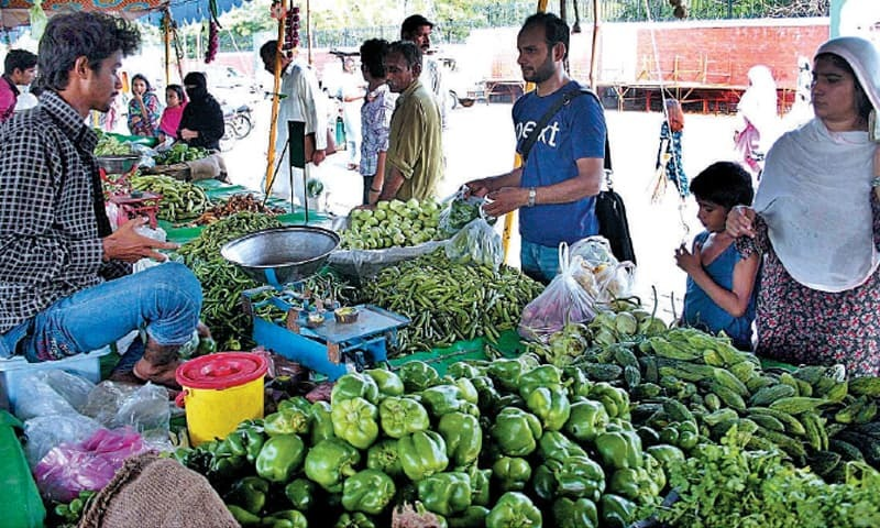 Prices of essential commodities, including chicken, eggs, meat, vegetables, pulses, sugar and rice, have been on the rise. — APP/File