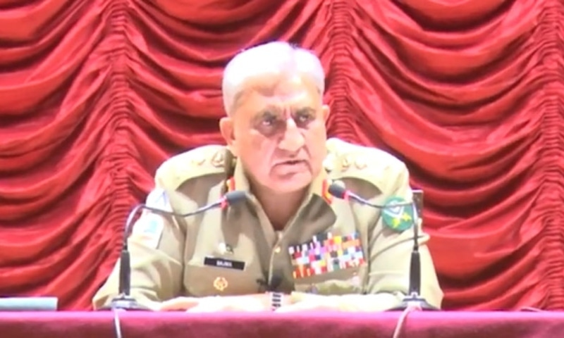 Chief of the Army Staff General Qamar Javed Bajwa has said the army will make all possible efforts to achieve an enduring peace for sustainable socio-economic development of Balochistan. — Photo courtesy Radio Pakistan
