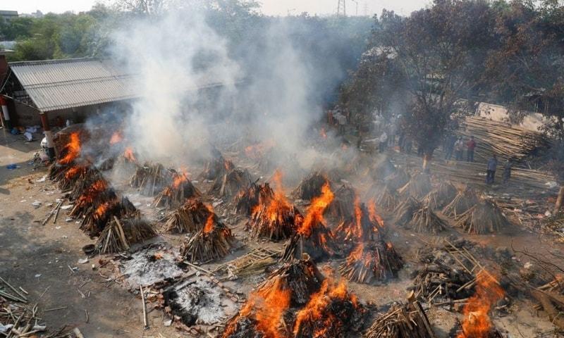 بھارت میں کورونا اموات کتنی ہوگئیں؟ نیویارک ٹائمز نے بڑا دعویٰ کردیا