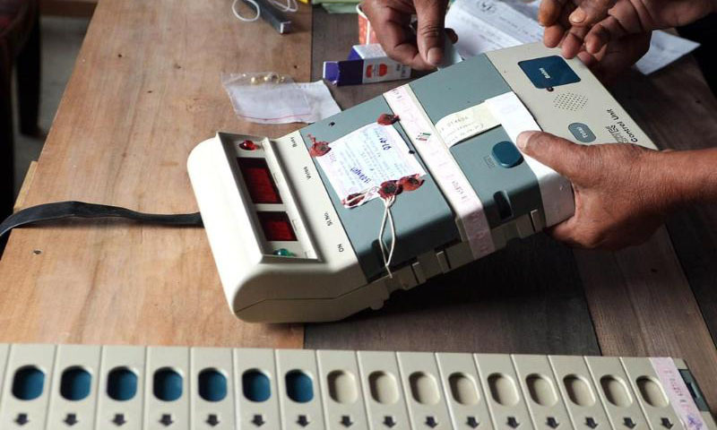 The Ministry of Science and Technology has sought more time to produce the prototype Electronic Voting Machine (EVM), saying the exercise is likely to be completed by the third week of next month. — AP/file